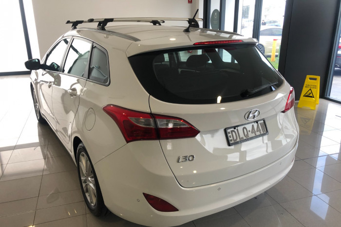 2013 Hyundai I30 GD Active Wagon