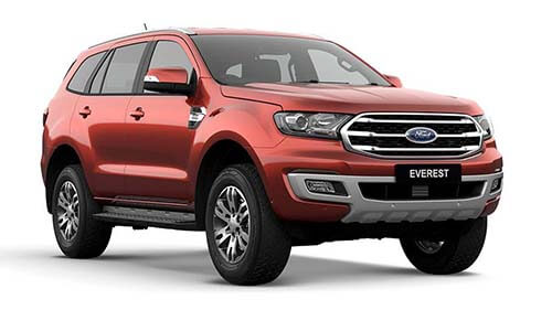 2019 Ford Everest UAII Trend 4WD Sedan