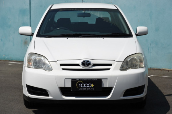 2006 Toyota Corolla ZZE122R 5Y Conquest Hatchback Image 2