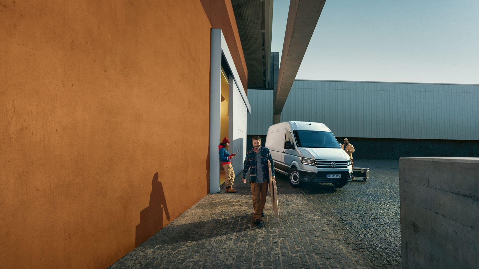 Crafter Van <strong>Crafter Van</strong><br>Great for business