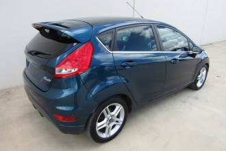 2011 Ford Fiesta WT LX Sedan Image 3