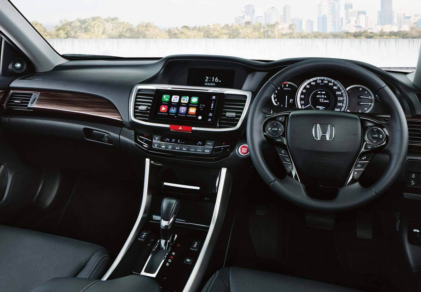 Accord Interior Dash