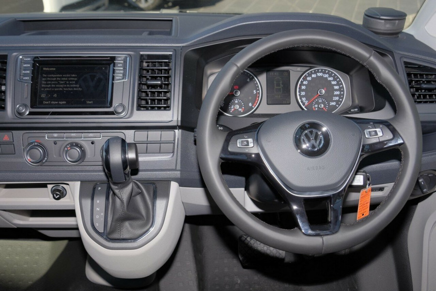 2017 MY18 Volkswagen Transporter T6 LWB Dual Cab Cab chassis