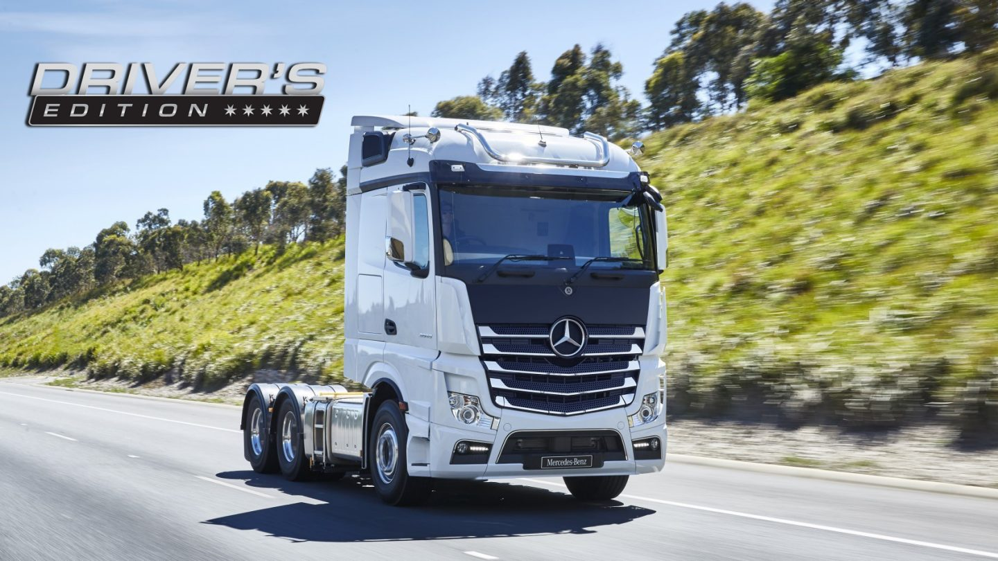 Actros Prime Movers Driver's Edition