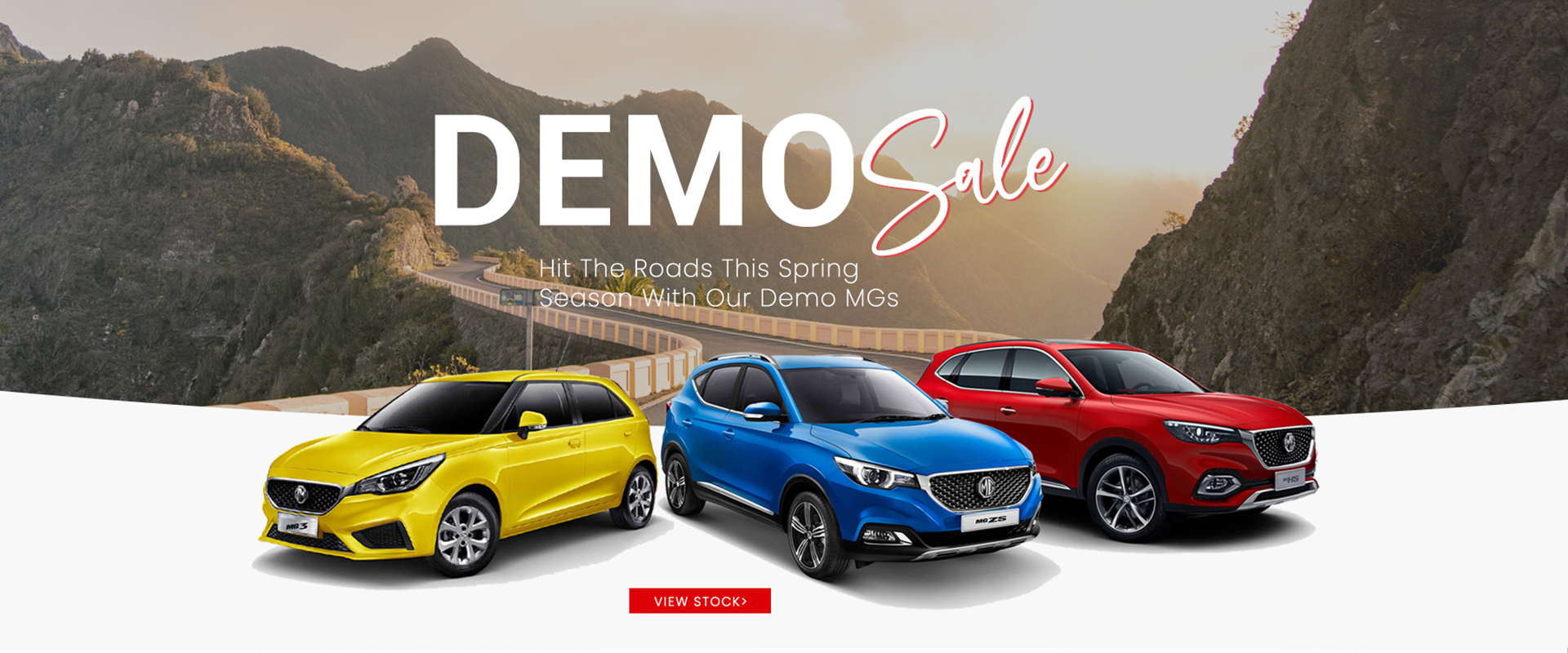 MG Parramatta is offering attractive prices on demo and used MG 3, MG HS and MG ZS to clear the stock.