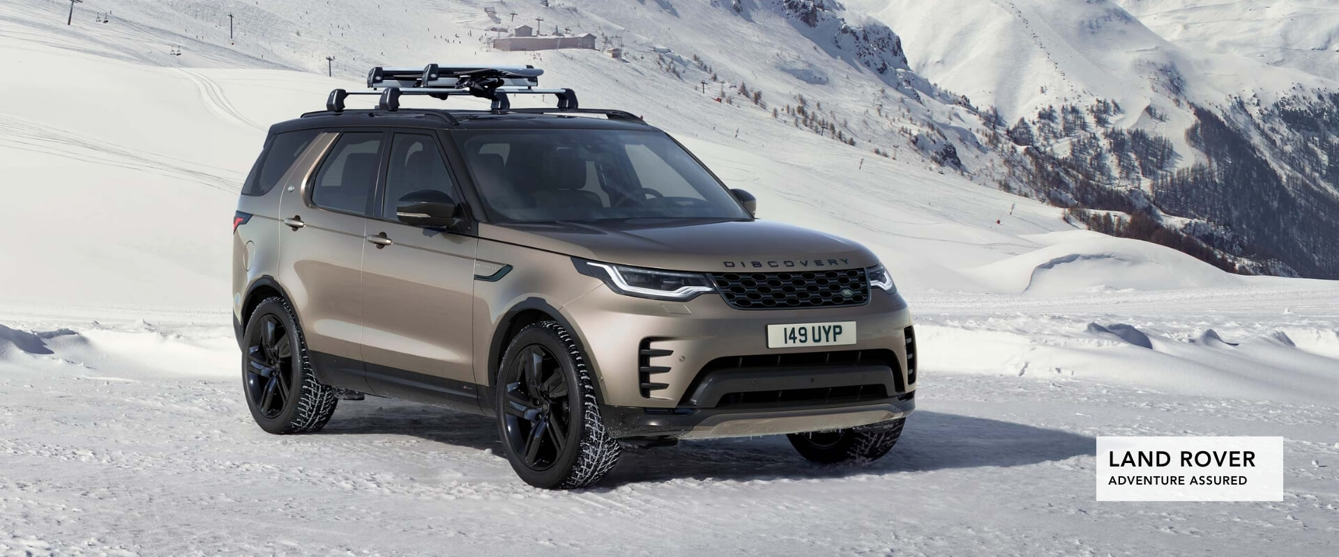Land Rover. Adventure Assured.