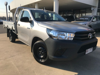 Toyota HiLux WorkMate 4x2 Single-Cab Cab-Chassis TGN