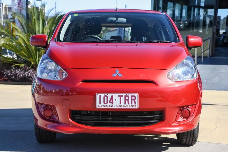 2013 Mitsubishi Mirage LA MY14 ES Hatchback