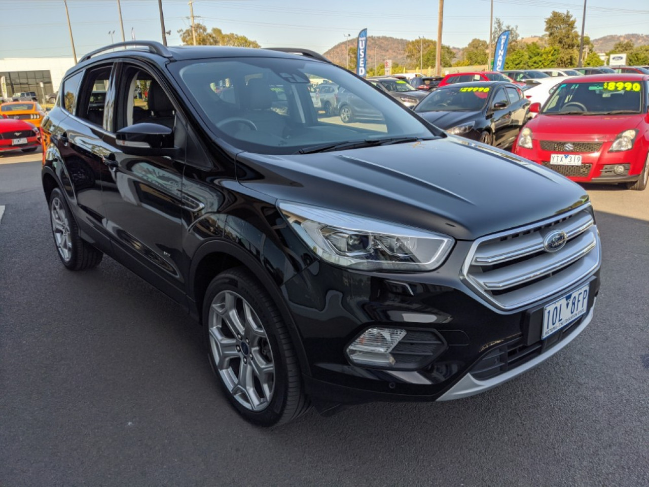 2018 MY19.25 Ford Escape ZG 2019.25MY TITANIUM Suv