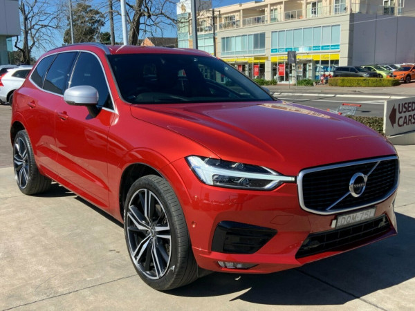 2017 Volvo XC60 DZ D5 Geartronic AWD R-Design Suv Image 3