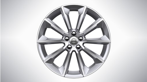 "19"" 5-V Spoke Tinted Silver - 1040"