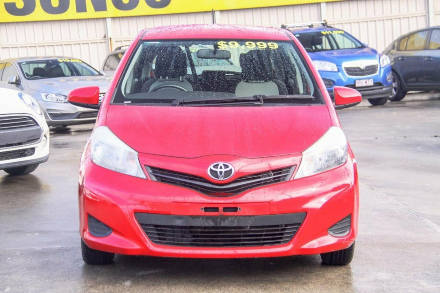2013 Toyota Yaris NCP130R YR Hatchback Image 3