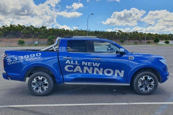 2020 MY21 GWM Ute NPW Cannon-L Ute