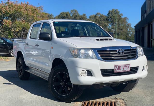 2015 Toyota HiLux KUN26R MY14 SR Utility