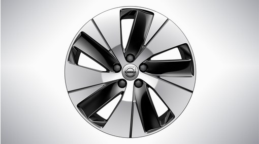 "18"" 5-Spoke Black Diamond Cut - 1076"