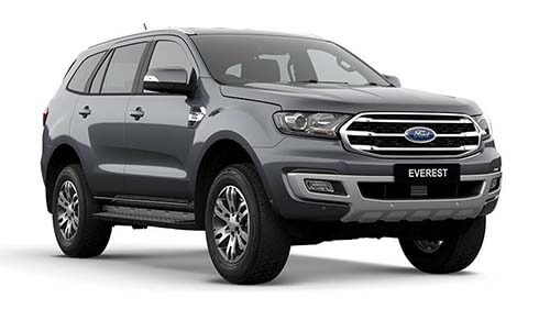 2018 MY19 Ford Everest UA Trend RWD Wagon