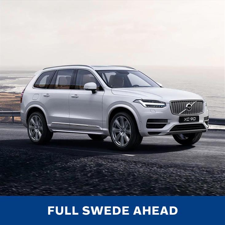 FULL SWEDE AHEAD - Volvo XC90
