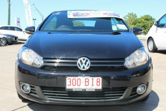 2012 Volkswagen Golf VI MY12 118TSI DSG Cabriolet Image 3