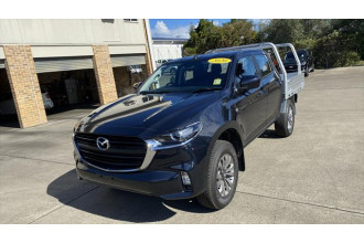 2020 MY21 Mazda BT-50 TF XT Cab chassis Image 3