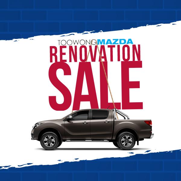 Toowong Mazda Renovation SALE