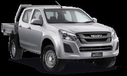 New Isuzu UTE SX Crew Cab Chassis 4x4