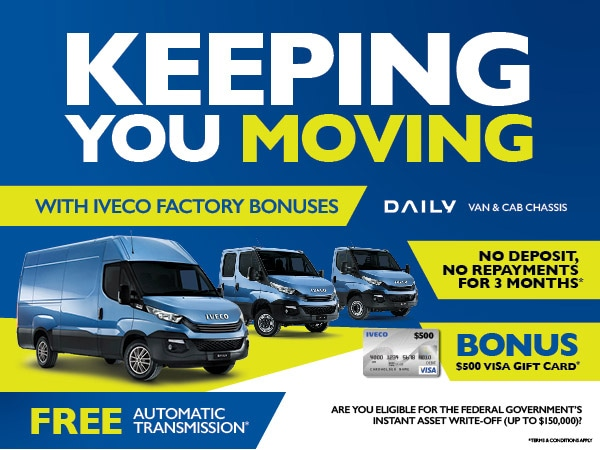 KEEPING YOU MOVING WITH DAILY FACTORY BONUSES