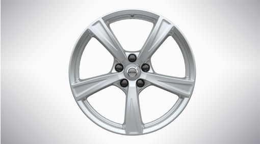 "18"" 5-Spoke Sparkling Silver Alloy Wheel - 233"