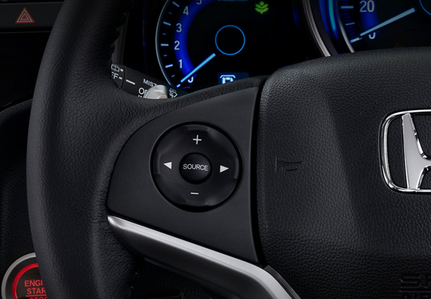 Jazz Steering wheel-mounted controls
