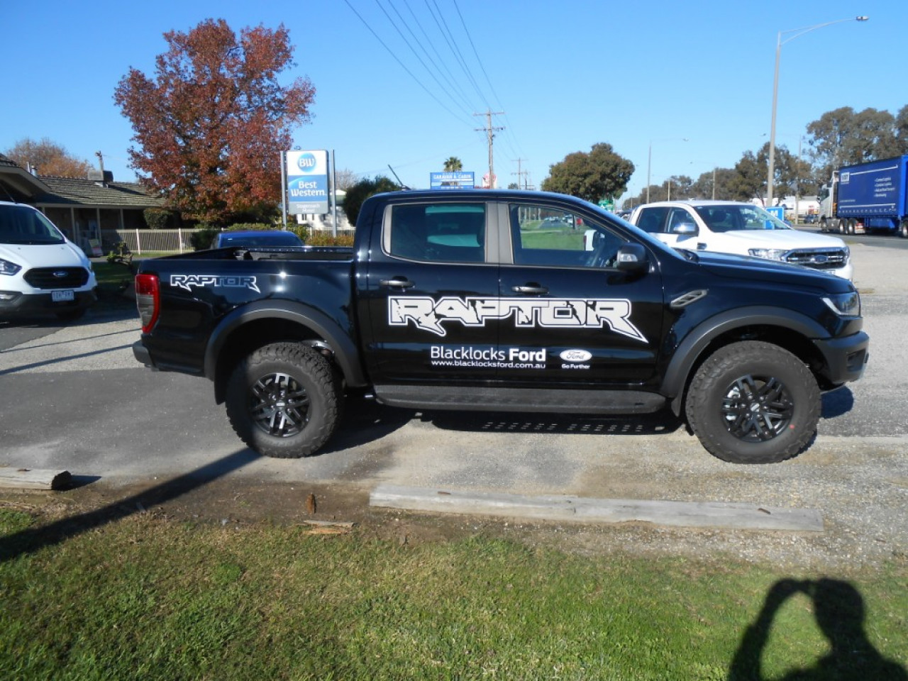 2018 MY19 Ford Ranger Raptor PX MkIII Double Cab Pick Up Utility