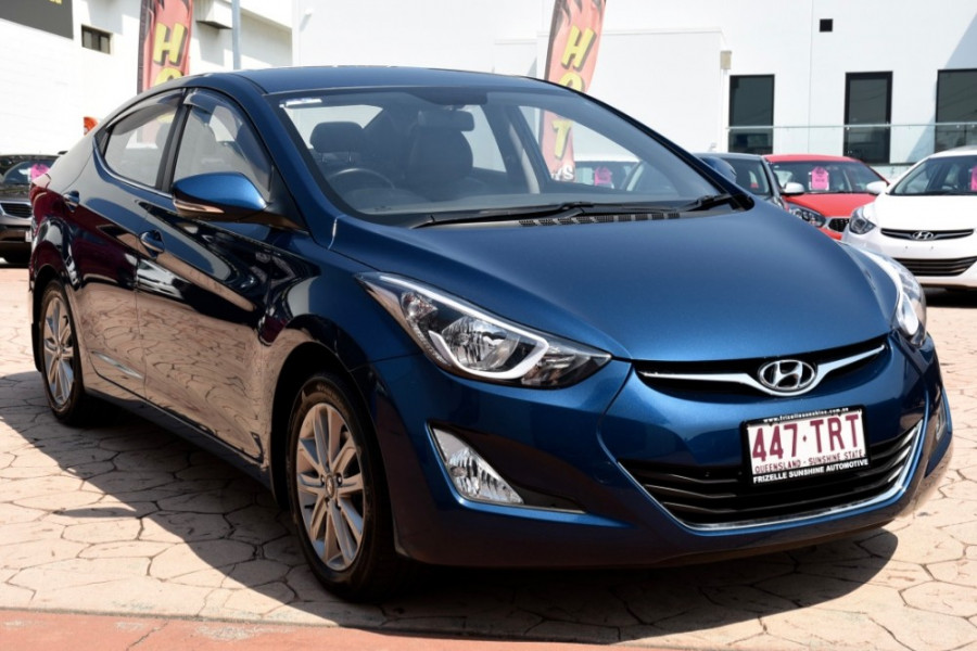 2013 MY14 Hyundai Elantra MD3 Trophy Sedan