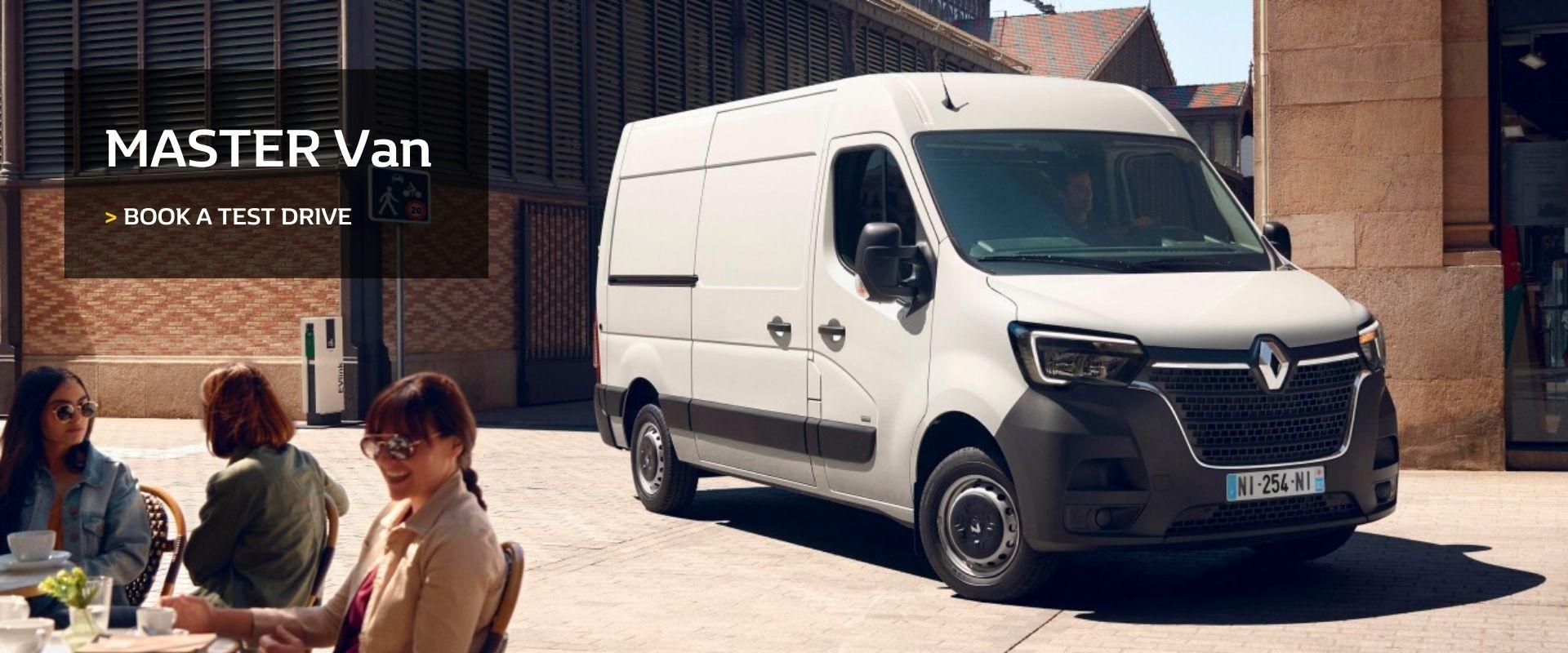 Renault Master Van -  Book a test drive today at Cricks Maroochydore Renault