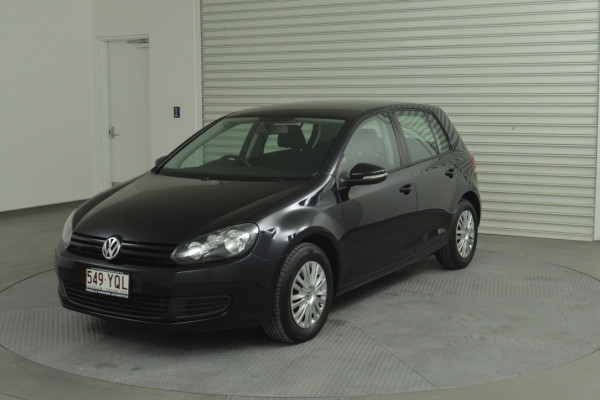 2012 MY12.5 Volkswagen Golf VI 77TSI Hatchback