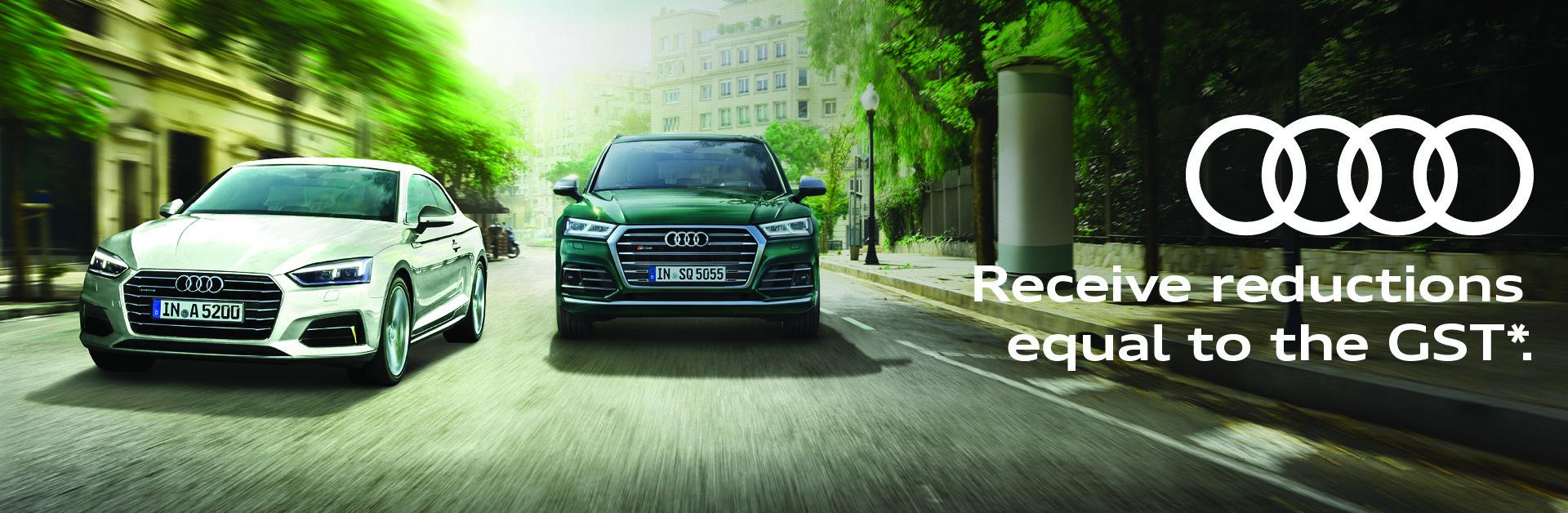 Audi GST Sale