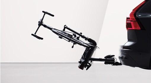 Folding bicycle holder for towbar, 2 bikes - Fix4Bike