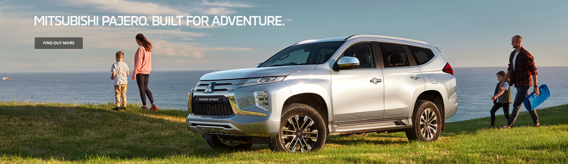 Elevate your adventure with the Mitsubishi Pajero Sport. Book a test drive today.