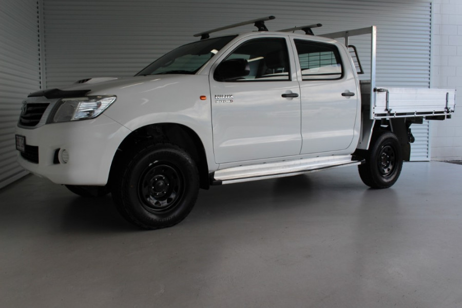 2013 MY12 Toyota HiLux KUN26R MY12 WORKMATE Cab chassis Image 5