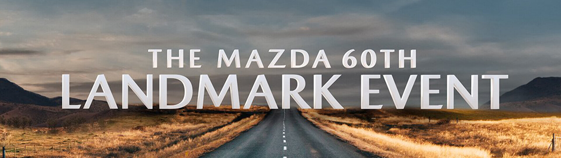 The Mazda 60th Landmark Event.