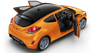 Veloster How Many Doors?