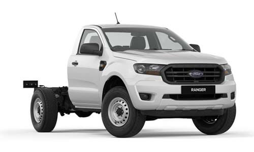 2018 MY19 Ford Ranger PX MkIII 4x2 XL Single Cab Chassis Hi-Rider Cab chassis