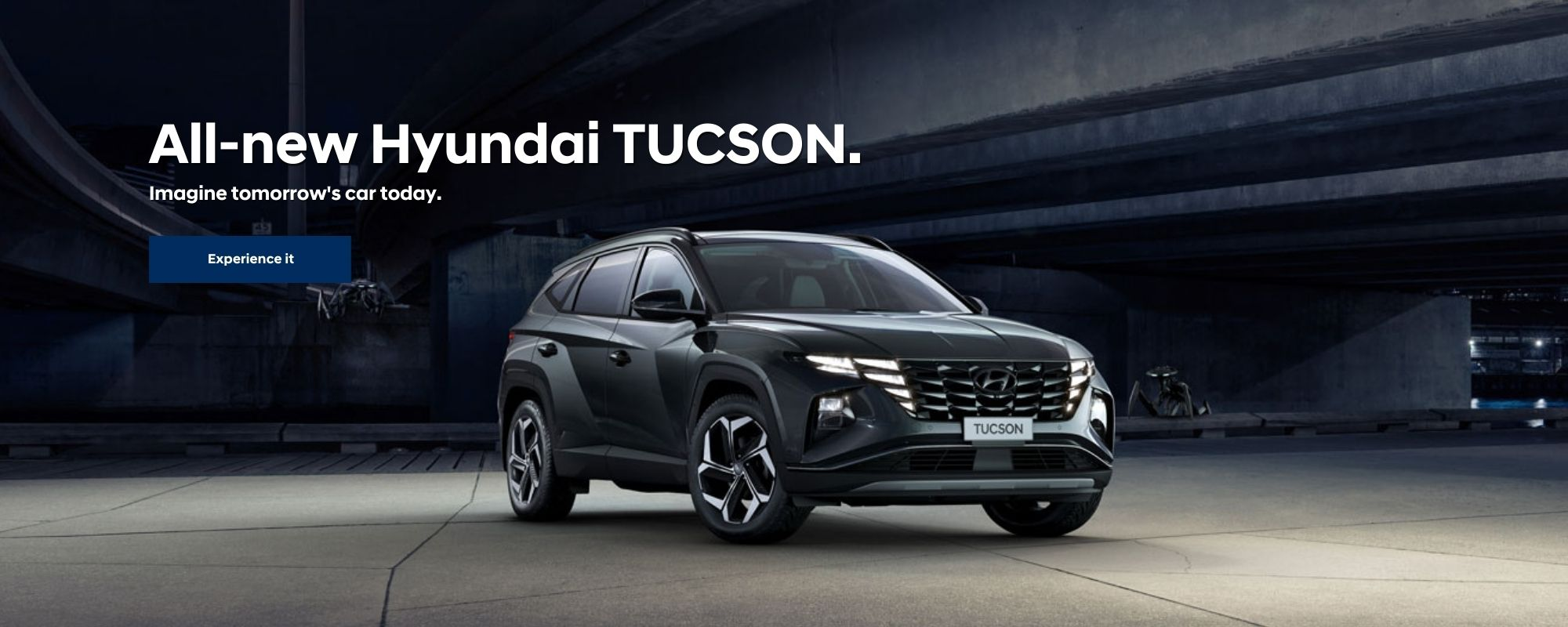 All-new Hyundai TUCSON.