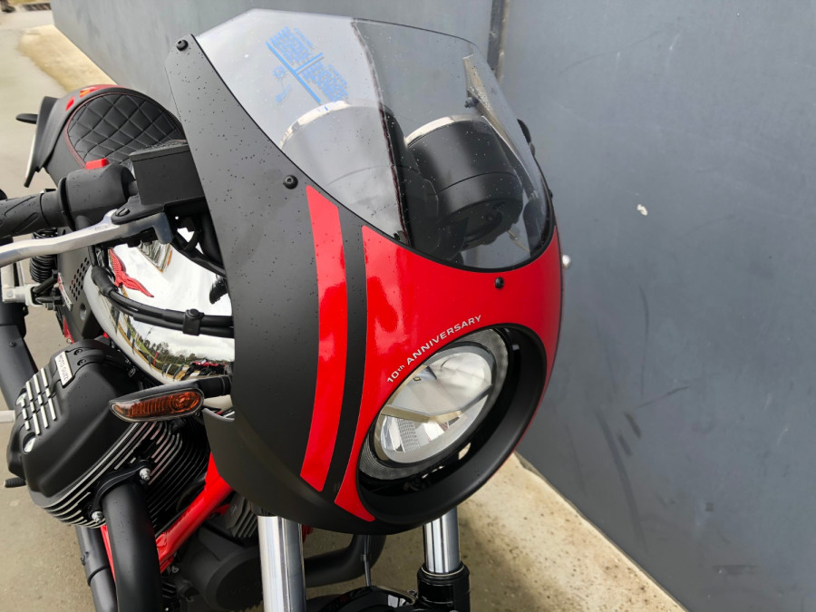 2020 Moto Guzzi V7 Racer III 10th Ann Motorcycle Image 6