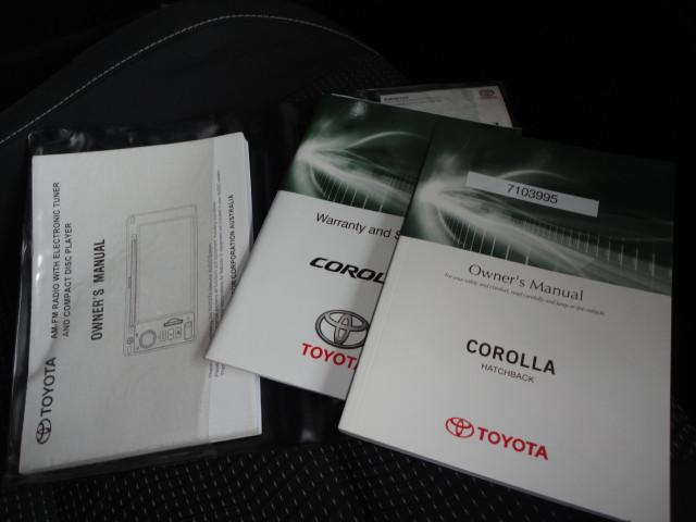 2015 Toyota Corolla ZRE182R Ascent Ascent Sport Hatchback