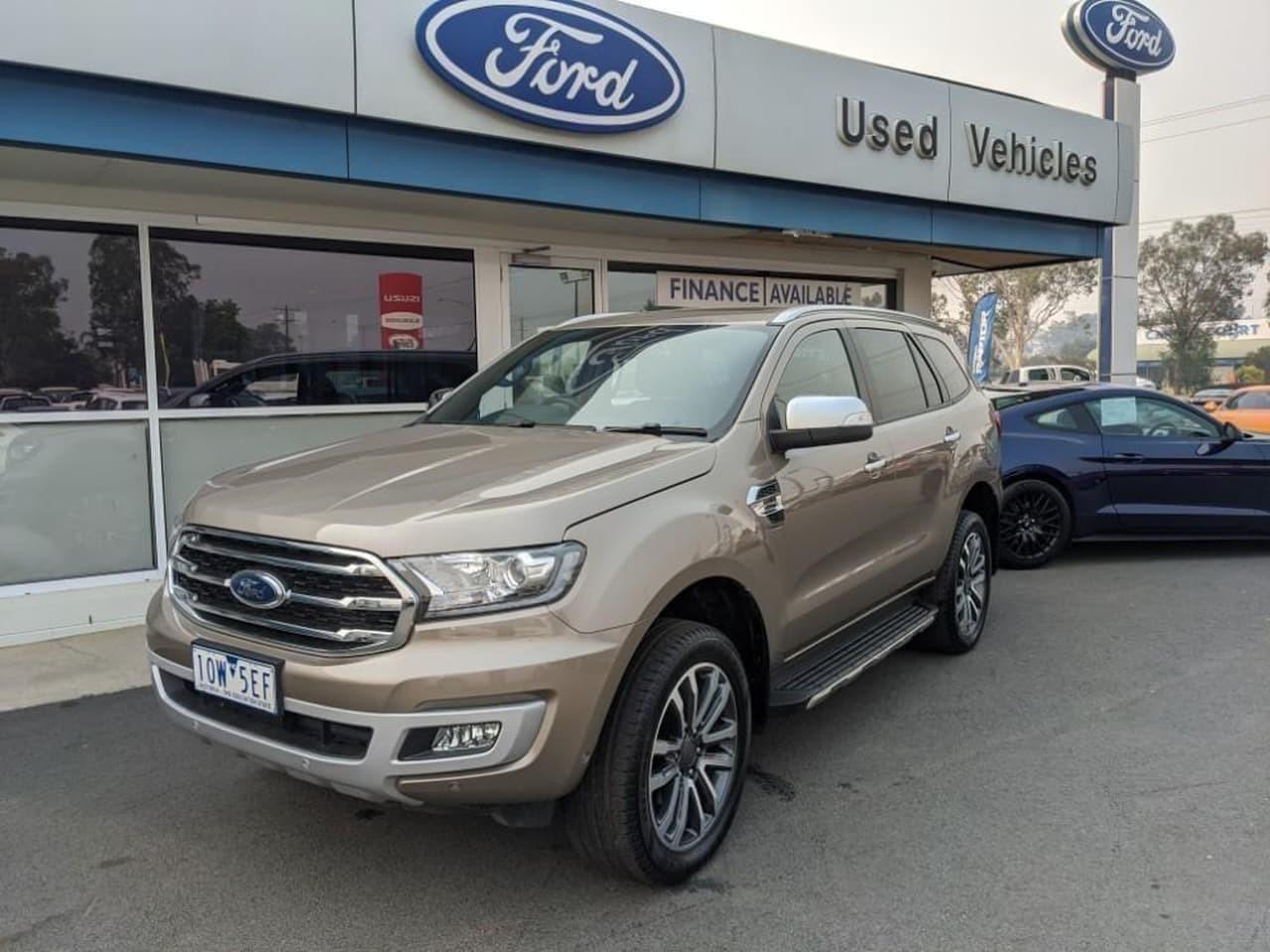 2019 Ford Everest UA II 2019.00MY TITANIUM Suv
