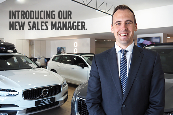 We are thrilled to introduce to you Volvo Cars Brighton's new Sales Manager, James Prytz.