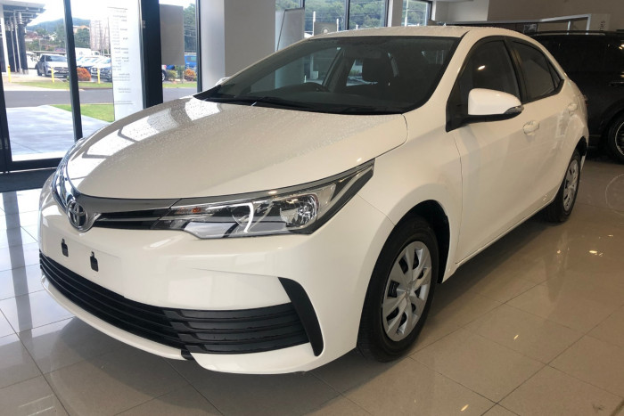 2017 Toyota Corolla ZRE172R Ascent Sedan