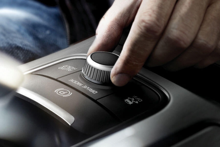 Drive mode select system