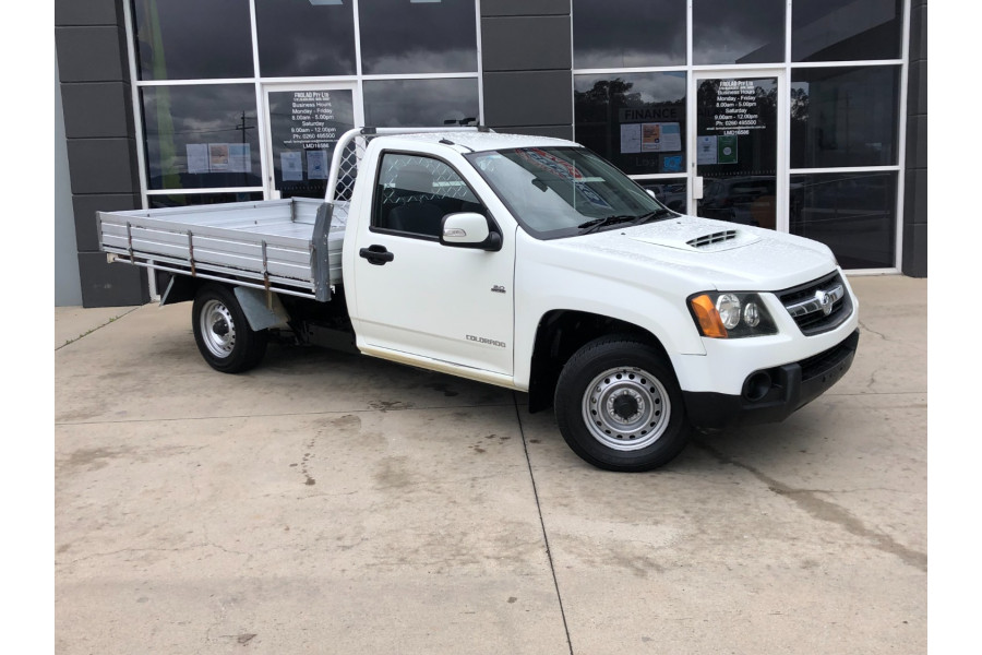 2010 Holden Colorado RC MY10 LX Cab chassis
