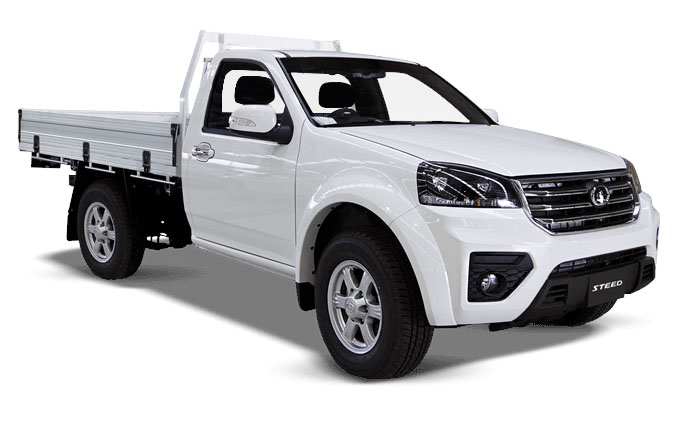 2021 MY20 Great Wall Steed K2 Single Cab 4x4 Cab chassis