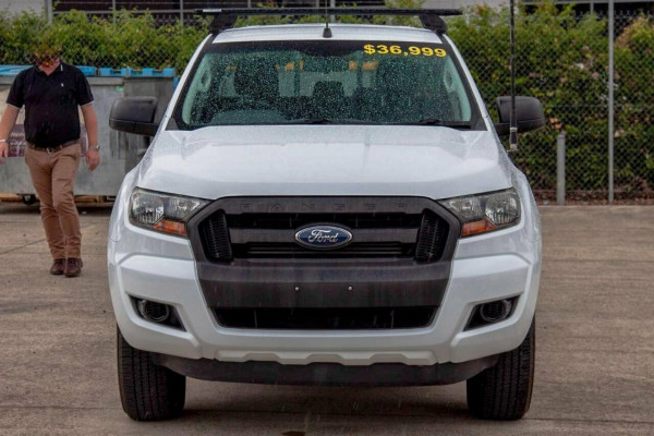2017 Ford Ranger PX MkII MY17 Update XL 3.2 (4x4) Crew cab utility Image 3