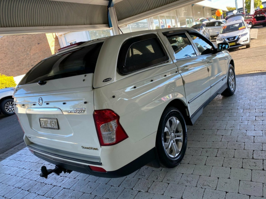 2012 SsangYong Actyon Sports Q150  SPR SPR Ute Image 7